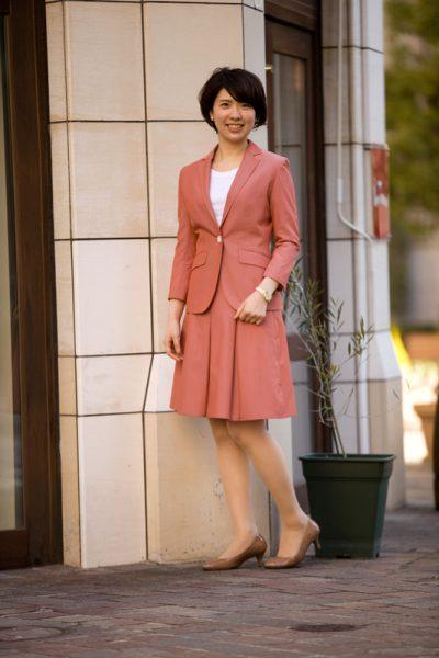 PINK スカートスーツ