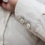 綿100%形態安定素材シャツ ツインバレル