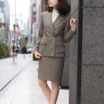 ダブルスカートスーツ