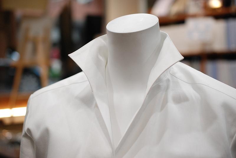 ワンピースカラー オーダーシャツ