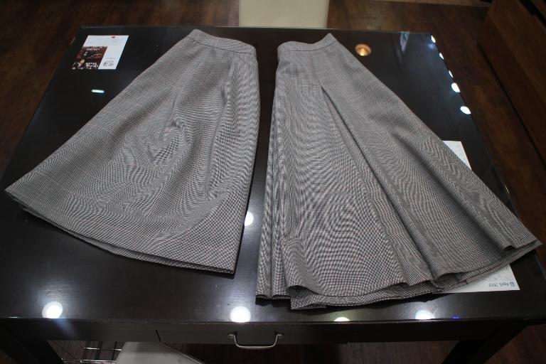 2スカート 丈違い
