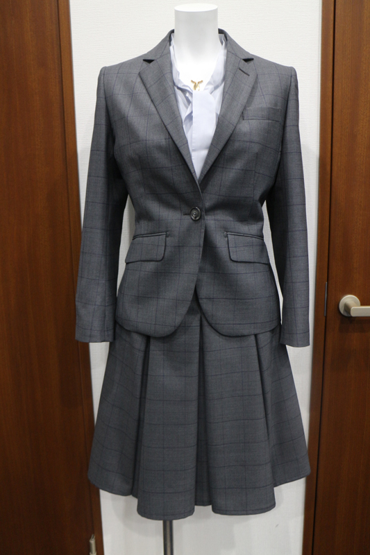 チェック スーツ