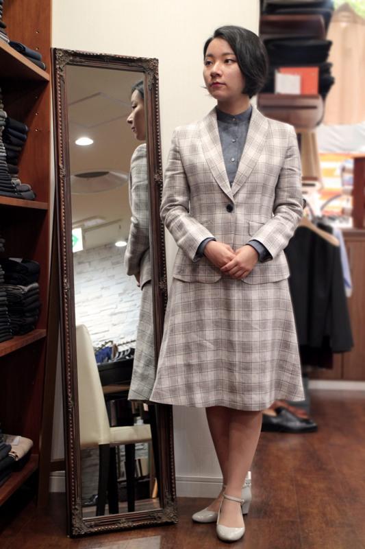 アンティークテイストのスーツ