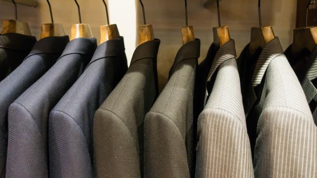 スーツの保管